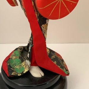 Vintage Accents - Vintage Musical Geisha Doll, 18 inches
